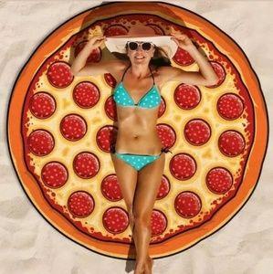 Bigmouth pizza towel